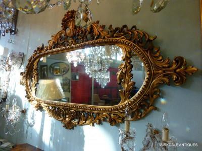 An ornate mirror
